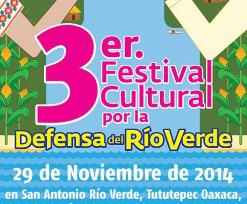 3er Festival Cultural en Defensa del Río Verde