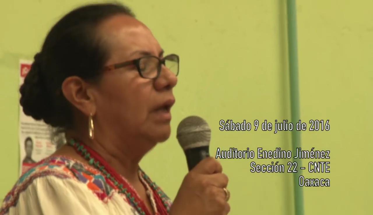 Por que las autoridades de la Mixteca apoyan a la CNTE – Video